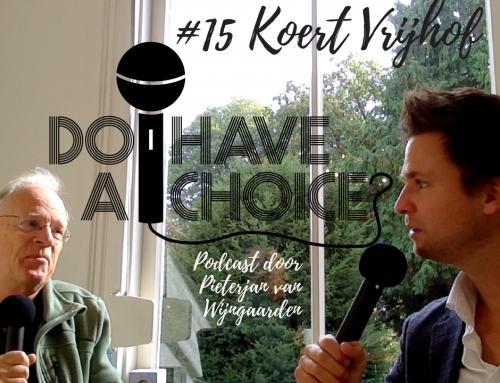 Podcast #15: In gesprek met Koert Vrijhof over liefdevol politiek leiderschap